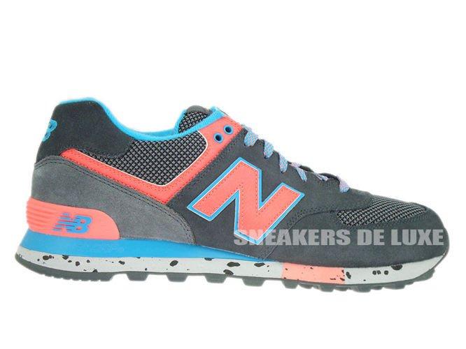 best cheap c7de1 44c4d ML574DGB New Balance 574 Grey / Blue