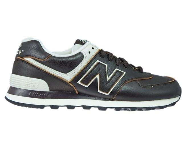 super cute 7d706 86782 New Balance ML574LUA Brown Leather