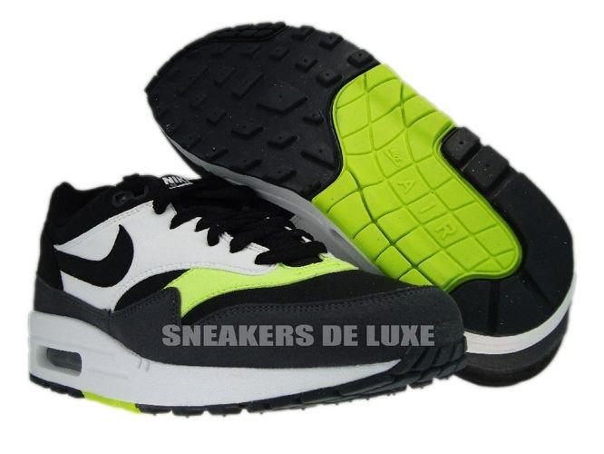 English  Nike Air Max 1 Black Anthracite Volt White 308866-022 Nike ... d1e986b3a6