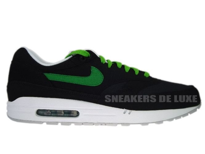 wholesale dealer 6d506 80e64 Nike Air Max 1 Black Victory Green-White-Red 308866-020 ...
