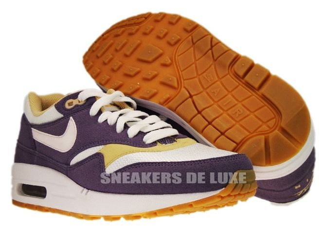 on sale e38ec faa98 ... Nike Air Max 1 Daybreak White-Vegas Gold-Gum 319986-501 ...