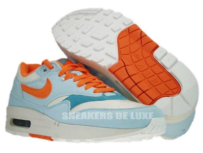 best service 89fb6 9ff6e ... Nike Air Max 1 Glacier Blue Sail 319986-401 ...
