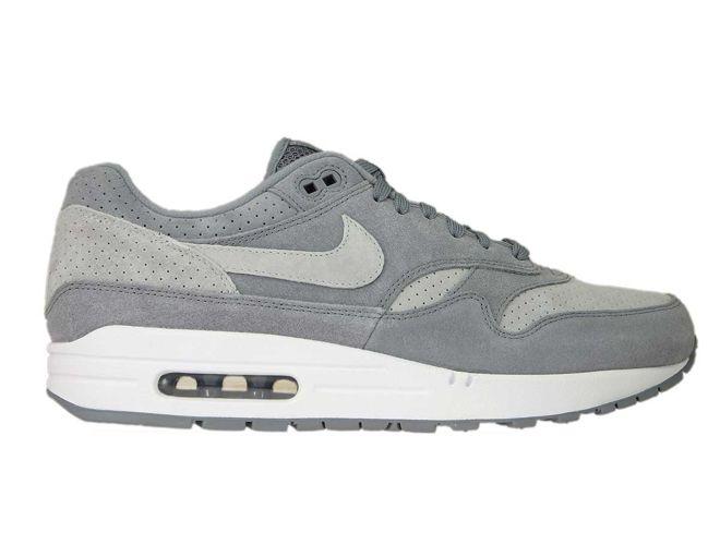 c49a8fe4e9 sneakers: Nike Air Max 1 Premium 875844-005 Cool Grey/Wolf Grey ...