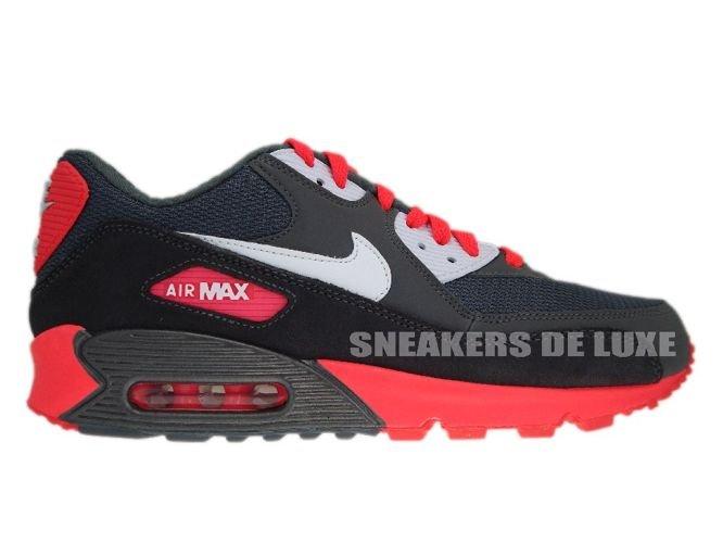 meet 06db7 ab550 Nike Air Max 90 325018-046 Metallic Dark Grey Pink ...