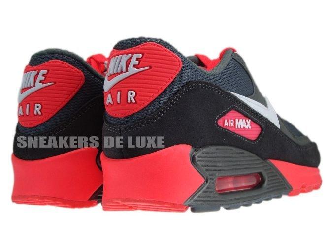 competitive price b86a1 35513 ... Nike Air Max 90 325018-046 Metallic Dark Grey Pink ...
