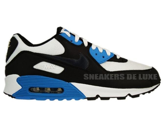 Nike Air Max 90 BlackAnthracite White Blue Lacquer 309299
