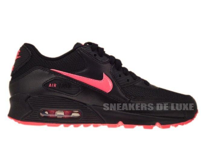 newest 96d6e 4ca1e Nike Air Max 90 Black Hot Punch 345017-011 ...