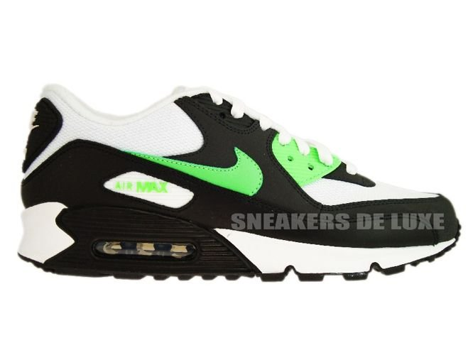 meet 7262b 65f72 Nike Air Max 90 Black Neo Lime-Anthracite 309299-035 ...