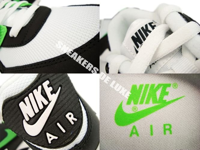 best website 557a3 6f7a6 Nike Air Max 90 BlackNeo Lime-Anthracite 309299-035 . ...