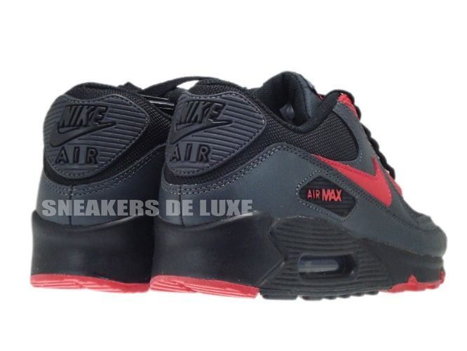 newest 7ca7c b9cc7 ... Nike Air Max 90 Black Siren Red-Anthracite 325213-020 ...