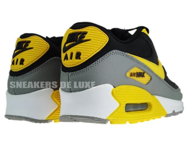 Nike Air Max 90 – Black – Varsity Maize – White Tilgjengelig  Available