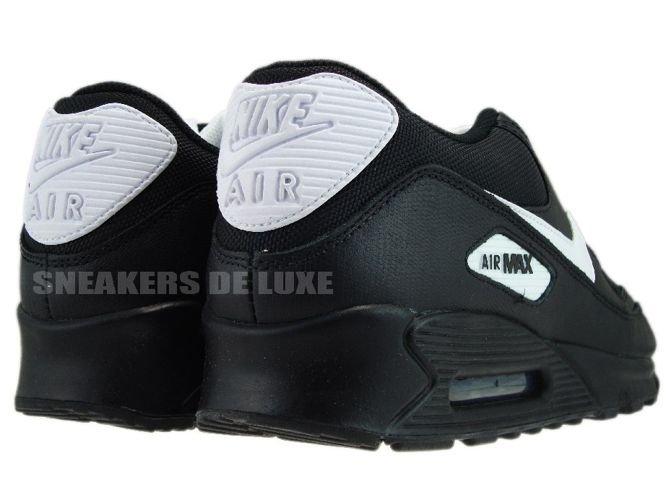 huge selection of b8e1b 344d8 ... Nike Air Max 90 Black White 309299-034 ...