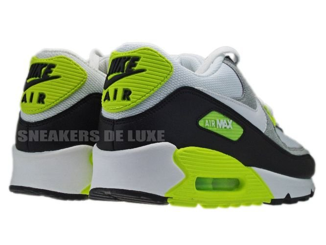 factory authentic fc5a1 90087 ... get nike air max 90 black white medium grey volt 325018 048 4dd71 e5815