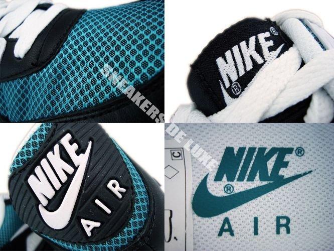 006e787e7b60 English  Nike Air Max 90 Black White Turbo Green 325018-020 325018 ...