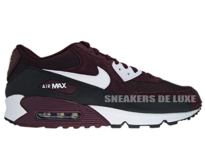 6f9bb5c7e37f70 English  Nike Air Max 90 Deep Burgundy White-Black 325018-603 325018 ...