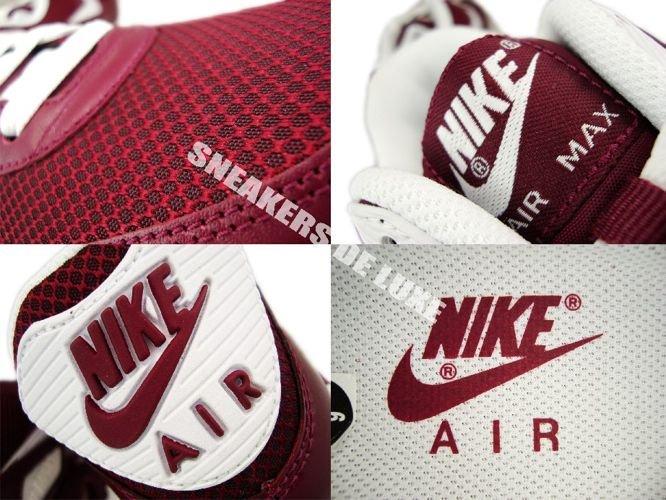 English  Nike Air Max 90 Deep Garnet White-Anthracite 325018-601 ... 4238193c7