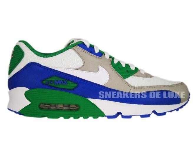 Nike Air Max 90 GraniteVarsity Royal Lucky Green 309299 023