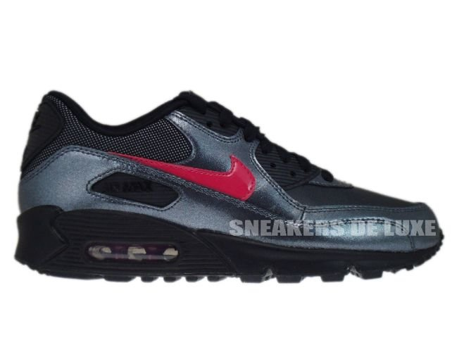 buy online 5901d a91c0 Nike Air Max 90 Metallic Hematite/Bright Cerise-Black 345017-007 ...