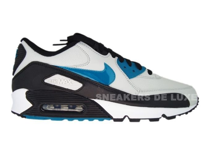 ae33af44b3eb ... Nike Air Max 90 Neutral Grey Blustery-Black 309299-027 .