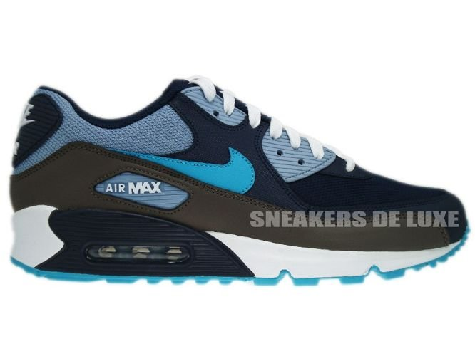 ae0488dad8 ... discount nike air max 90 obsidian turquoise grey white 325018 415 44909  17e1f