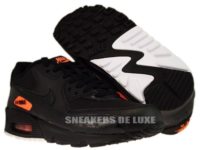 premium selection 3e38d bb8c2 Nike Air Max 90 Premium BlackTotal Orange 333888-004 .