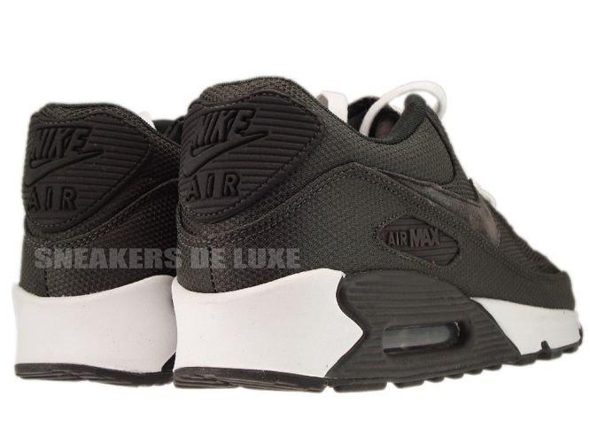803eb5863aa8 English  Nike Air Max 90 Premium Black White Medium Grey 333888-015 ...