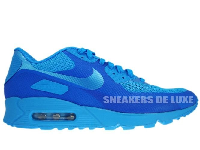 official photos 4b758 dfd07 Nike Air Max 90 Premium Hyperfuse Blue Glow Blue Glow 454446-400 ...