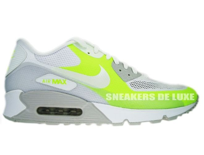 new concept 3ce72 07ef6 Nike Air Max 90 Premium Hyperfuse Neutral Grey White-Volt ...
