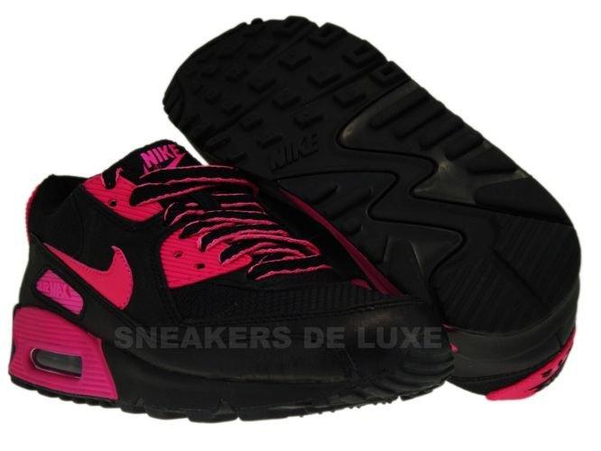 8fb2fdd667 sneakers: Nike Air Max 90 Premium LE Black/Vivid Pink 375572-061 ...