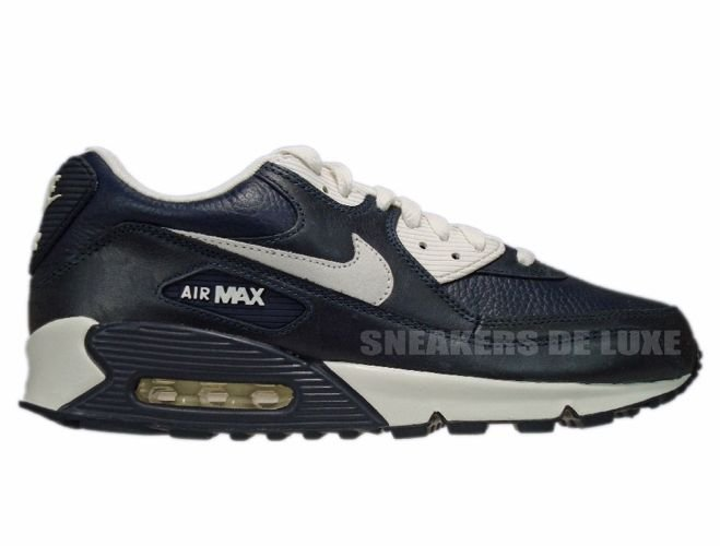 English  Nike Air Max 90 Premium Obsidian Sail 333888-400 333888-400 ... fd8b836b0