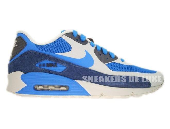timeless design fa6aa cbb1b Nike Air Max 90 Premium Obsidian Soar-Royal Blue 333888-404 ...