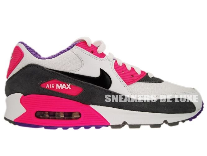 detailed look 84cac 0c461 Nike Air Max 90 White/Black Cool Grey Pink 325213-103