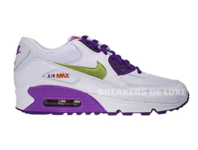 d28e115baf8ba8 English  Nike Air Max 90 White Metallic Gold Crt Purple 345017-112 ...