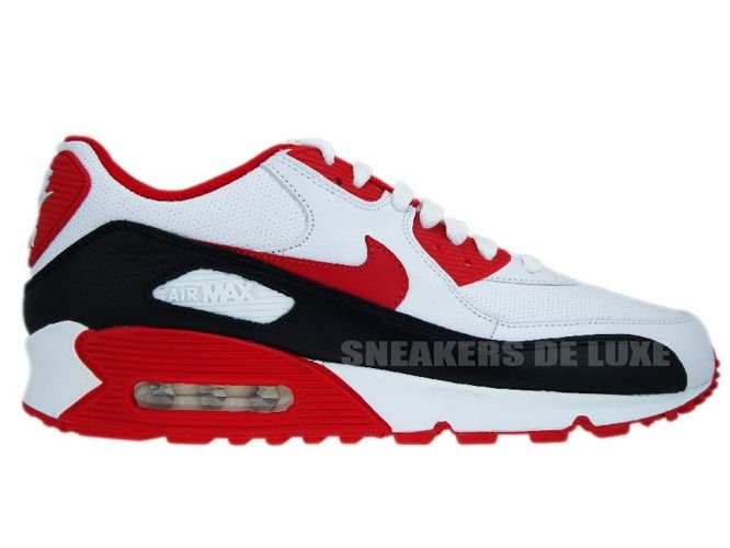 52b32cb13ff84 sneakers: Nike Air Max 90 White/Sport Red-Black 375572-101 375572-101
