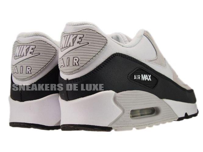low priced d2f90 8ab7c ... Nike Air Max 90 White White-Obsidian-Neutral Grey ...