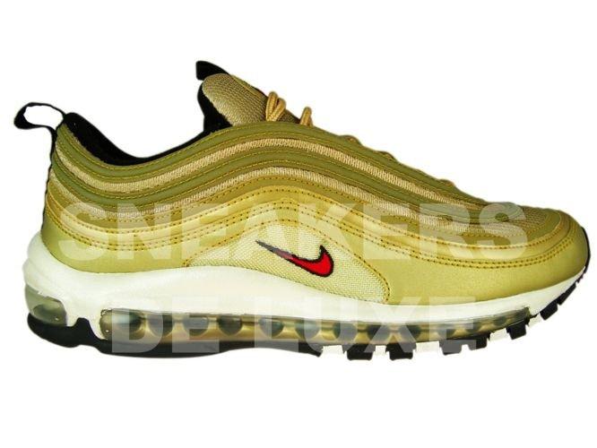 buy online 49ddd a6016 Nike Air Max 97 Metallic Gold Varsity Red White Black 312641-700 ...