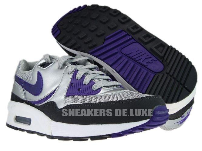 size 40 2f121 b2b2c ... Nike Air Max Light Metallic SilverClub Purple ...