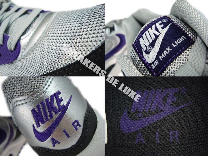 timeless design 4eaee 9a4ab ... Nike Air Max Light Metallic SilverClub Purple