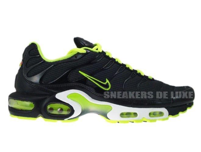 English  Nike Air Max Plus TN 1 Anthracite Black-Volt-White 604133 ... a84ae0c2ca