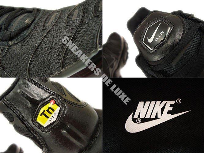 low priced b7ecb dad4d ... Nike Air Max Plus TN 1 Black Black-Black