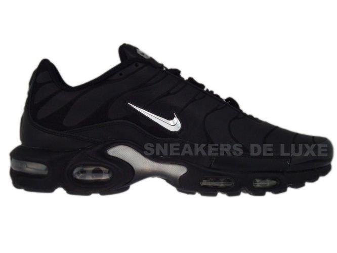 premium selection 81c94 07846 Nike Air Max Plus TN 1 Black/Chrome Metallic/Silver 604133 ...