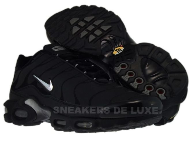 new arrival 55e7c 3ede6 Nike Air Max Plus TN 1 Black/Chrome Metallic/Silver 604133-005