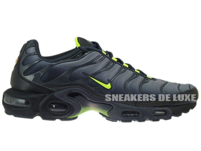 English: Nike Air Neon Max Plus TN 1 Noir/Cool Gris Neon Air Vert 605112 be4995