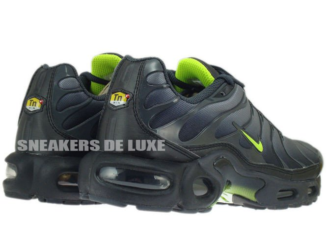 classic fit 09eae a2adc ... uk nike air max plus tn 1 black cool grey neon green 6acd7 257a3