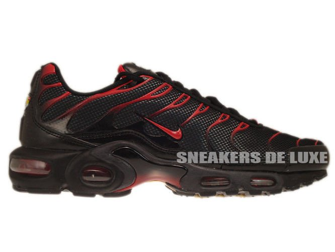 multiple colors most popular new photos Nike Air Max Plus TN 1 Black/Diablo Red-Anthracite