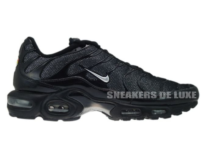 free shipping e05ef 86086 Nike Air Max Plus TN 1 Black/Metallic-Silver Black