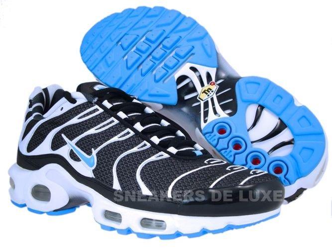 Nike Air Max Plus Tn 1 Black Vivid Blue White