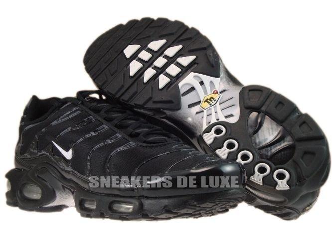 English  Nike Air Max Plus TN 1 Black White-Black 605112-034 Nike ... 1791390c3