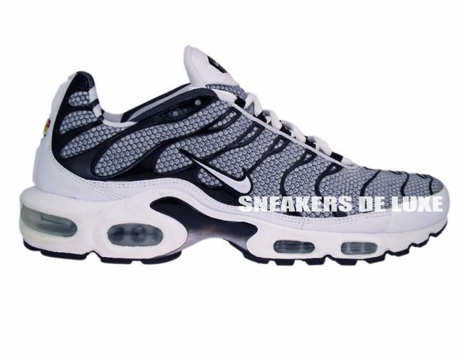 newest 969d9 31161 Nike Air Max Plus TN 1 GreyBlack White ...