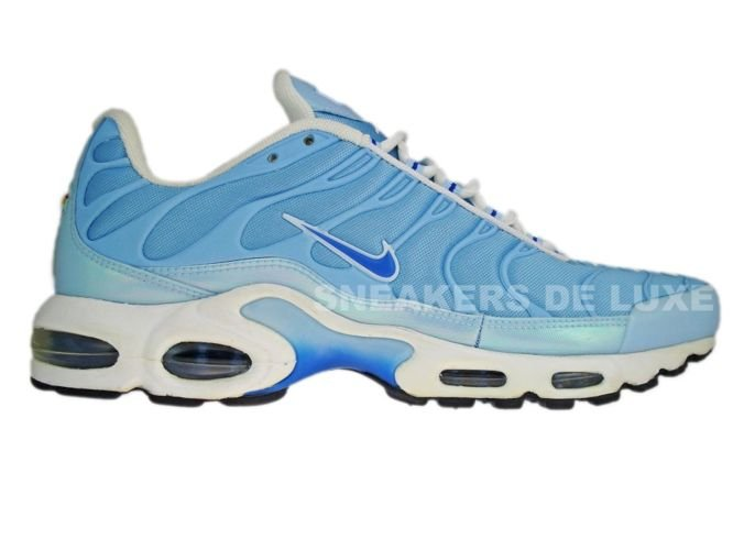 pedazo Restaurar Brillar  Nike Air Max Plus TN 1 White Blue/Blue-Saphire White 605112-448